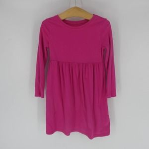 Old Navy   Hot Pink, Long Sleeve T-Shirt Dress, 4T